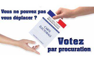 VOTE PAR PROCURATION : La Gendarmerie de Marolles-les-Braults sera ouverte uniquement et temporairement le mercredi de 14 h à 19 h. La Gendarmerie de Mamers sera ouverte du lundi au samedi de 8 h à 12 h et                    de 14 h à 18 h et le dimanche et les jours fériés de 9 h à 12 h et de 15 h à 18 h.  Carte d'identité obligatoire.